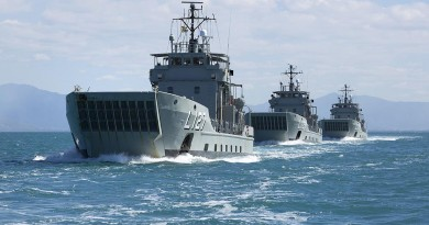 Two former Australian landing craft commissioned into Philippines navy
