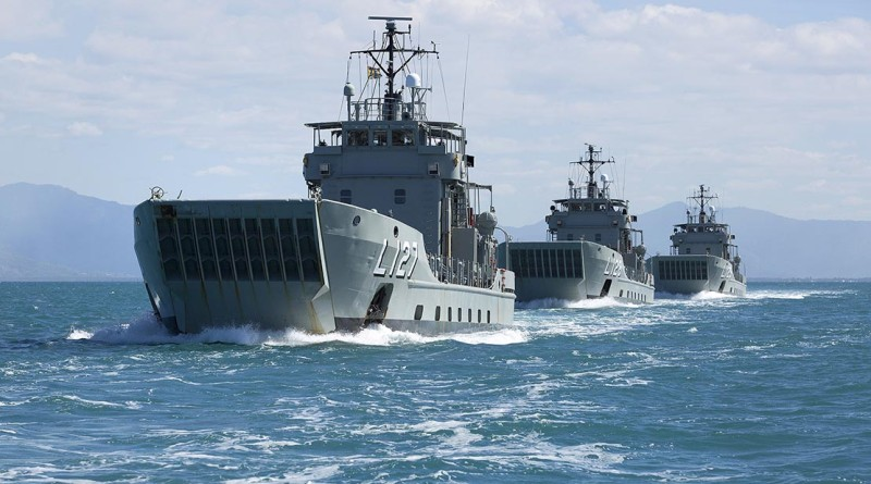 Then HMA Ships Brunei, Labuan and Tarakan