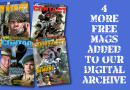 Four more magazines added to our digital archive
