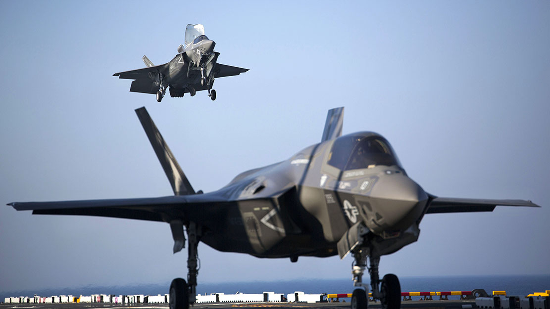 First F-35 Lightning crash
