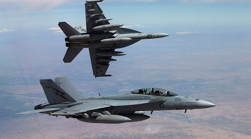 Two F/A-18F Super Hornets
