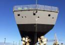 HMAS Ballarat completes 56-week upgrade docking