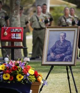 Major General 'Digger' James funeral