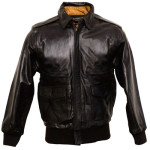 Official Air Force approved A2 Uniform Leather flight jacket - just $249.75