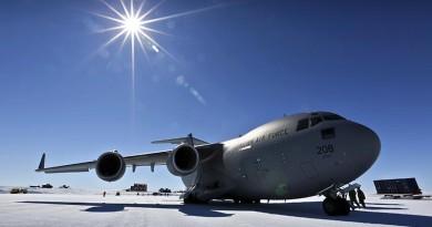 Antarctica – new milestone for RAAF C-17