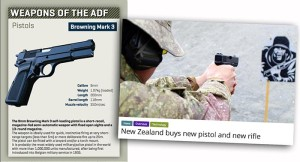 JUST SAYING.... Australian soldiers have been issued the 9mm Browning since anyone can remember (probably the 1950s). The Kiwi's bought the Sig Sauer P226 in 1992 and are now replacing it with the Glock 17 because 'it's due'.