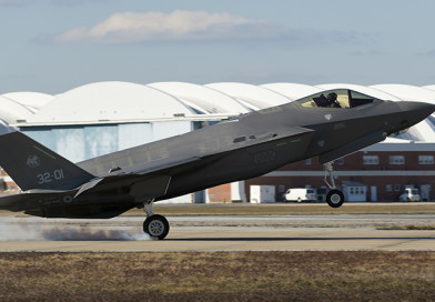 F-35 Lightening completes first trans-Atlantic crossing
