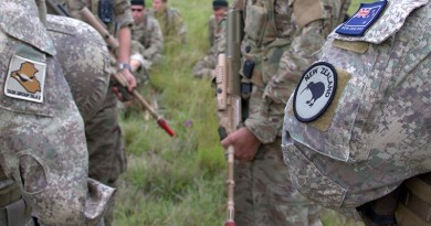 File photo - NZ Army soldiers train in Australia before deploying to the Middle East.