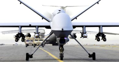 MQ-9 Reaper. US Air Force photo.