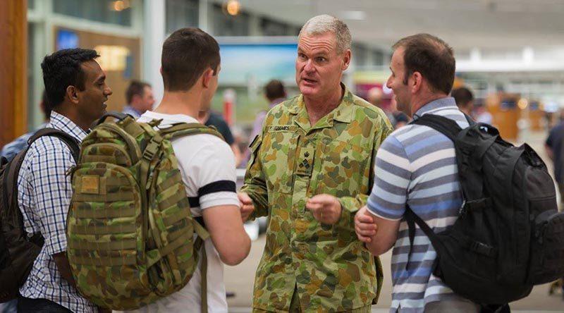 Commander 1 Brigade farewells soldiers headed to Iraq