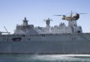 HMAS Canberra conducts CH-47F handling trials
