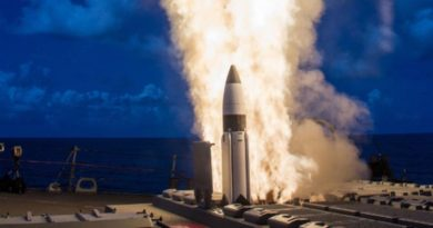 Photo courtesy of Missile Defense Agency. (PRNewsFoto/Raytheon Company)