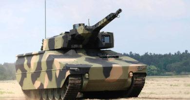 Rheinmetall Lynx in AusCam colour scheme