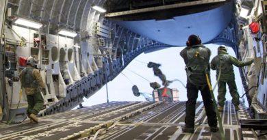 Antarctica winter airdrop