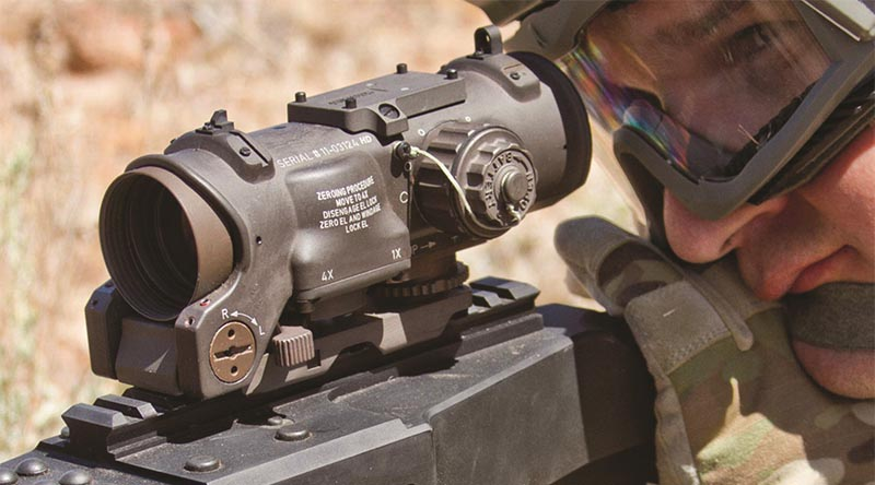 ADF buys ELCAN Specter DR 1-4x