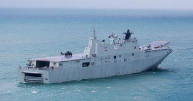 HMAS Adelaide open day in Adelaide