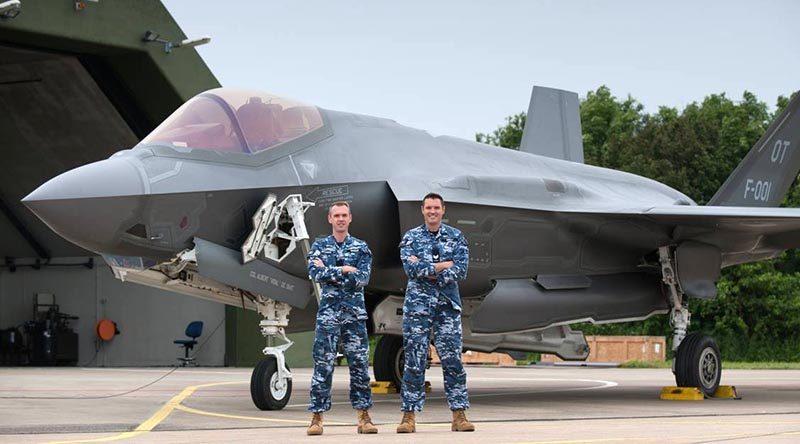 Two Aussies on F-35 international deployment