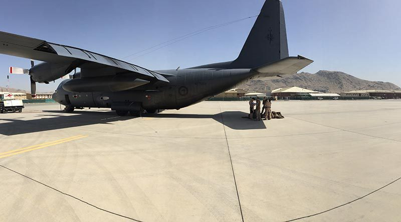 RNZDF Air Transport team get down to work in Middle East