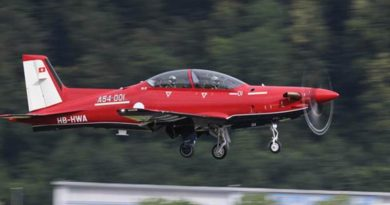 A54-001 – Australia's first Pilatus PC-21. Photo supplied