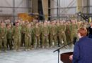 Defence Minister visits troops in Middle East