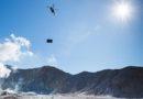 NZDF flies eruption shelter to volcanic island