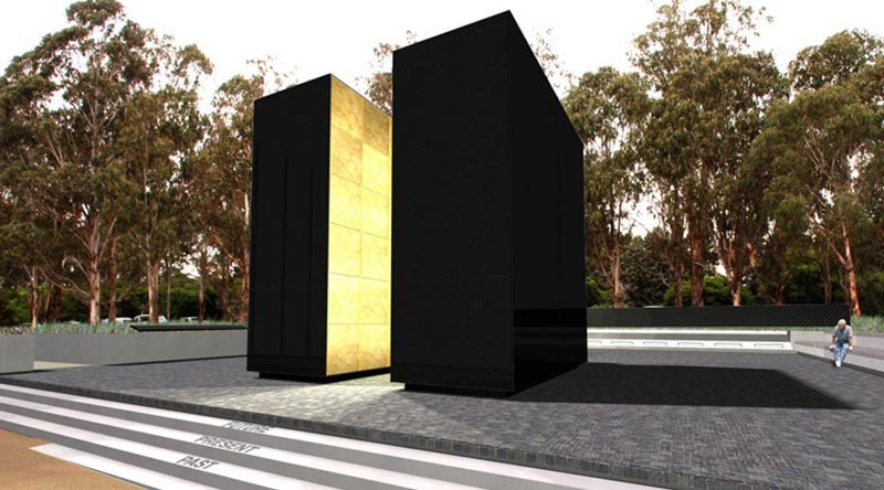 Australian Peacekeeping Memorial – architect's design