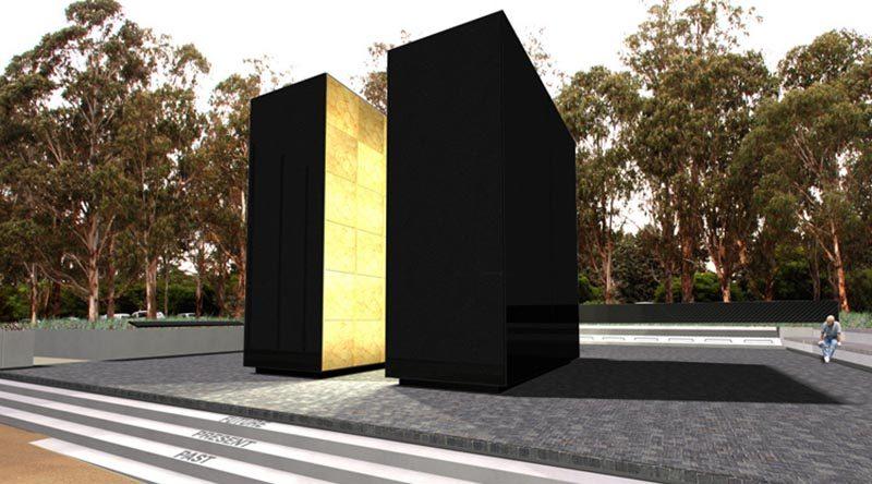 Australian Peacekeeping Memorial –architect's design