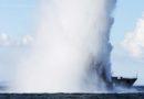 WWII ammo blowrocksSolomon Islands
