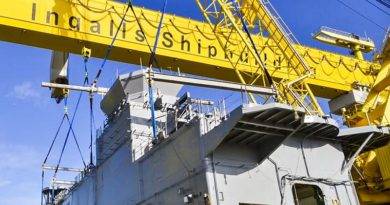 US military shipbuilder Huntington Ingalls Industries announces a Canberra office.