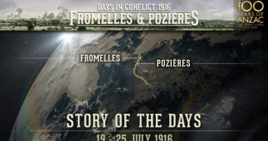 A new educational app about the First World War Battles of Fromelles and Pozières to mark their 100th anniversaries this year.