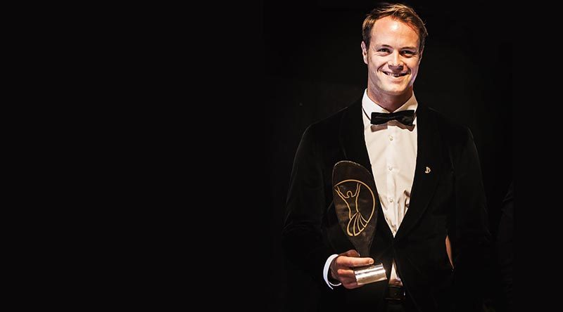 Curtis McGrath – 'Sportsman of the Year' at the World Paddle Awards.
