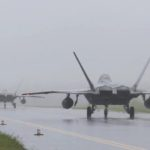 Whole squadron of F-22s land in Australia today