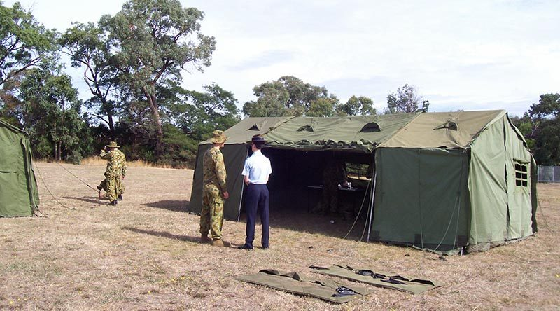 406 Sqn (Frankston) AAFC open day. Photo by Tony Grice.