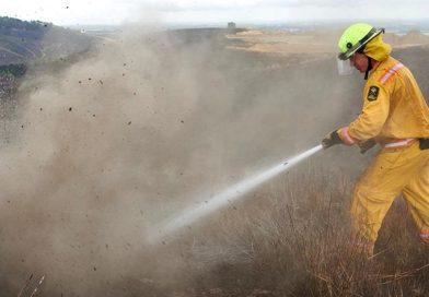 NZDF feeding the fires near Christchurch