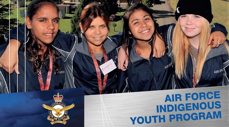 Image courtesy of the Program Support Officer, Directorate of Organisational Behaviour and Culture–Air Force, Aboriginal and Torres Strait Islander Programs.