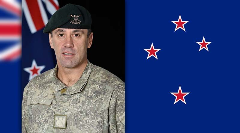 New Zealand Sergeant Major of the Army Warrant Officer Class 1 Clive Douglas.