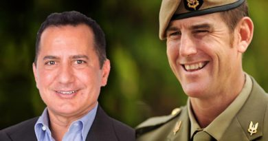 George Frazis and Ben Roberts-Smith VC – Chair and Deputy-Chair of the Industry Advisory Committee on Veterans' Employment.