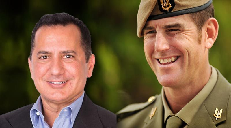 George Frazis and Ben Roberts-Smith VC –Chair and Deputy-Chair of the Industry Advisory Committee on Veterans' Employment.