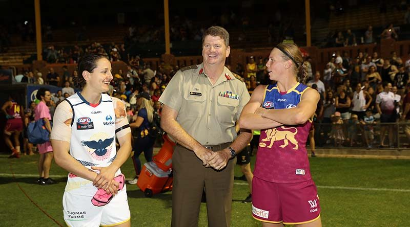 Either way, Army will win first ever AFL Women's Grand Final