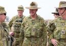 Chief of Army and RSM-A tour Middle East