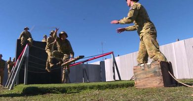 Australian Army Cadets participating in the Adventure Training Award.