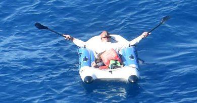 NZDF finds Tongan missing fisherman safe but sunburned