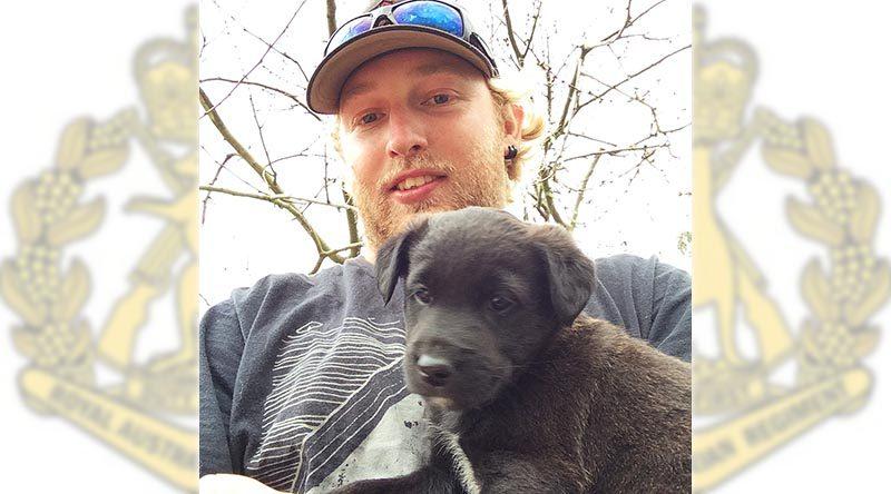 Private Jason Challis, killed at Mount Bundey Training Area, 10 May 2017.