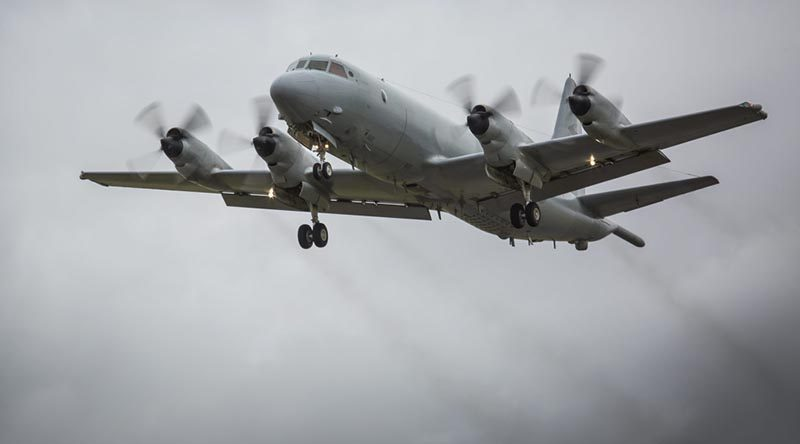 An RAAF AP-3C Orion. Photo by Corporal David Cotton.