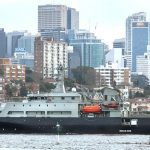 MV Sycamore arrives in Sydney