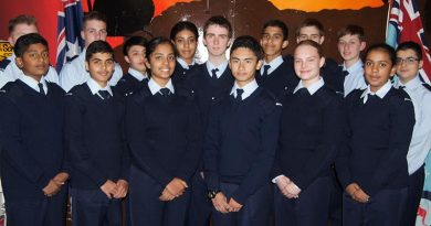 604 Squadron welcomes the newest graduates of Recruit Stage. Image by Pilot Officer (AAFC) Paul Rosenzweig