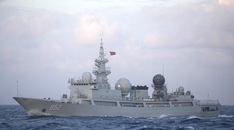 Talisman Sabre – Chinese spy ship snoops in