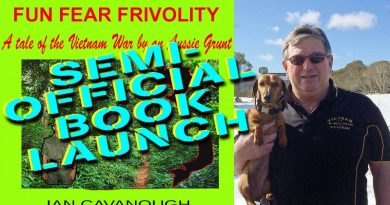 "Ian Cavanough launches ""Fun, Fear and Frivolity"" as an e-book."