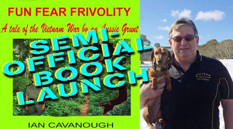 """Ian Cavanough launches """"Fun, Fear and Frivolity"""" as an e-book."""