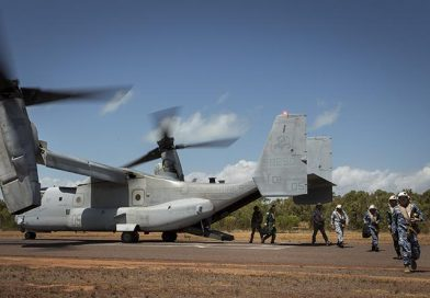 First US military construction in Australia since WWII